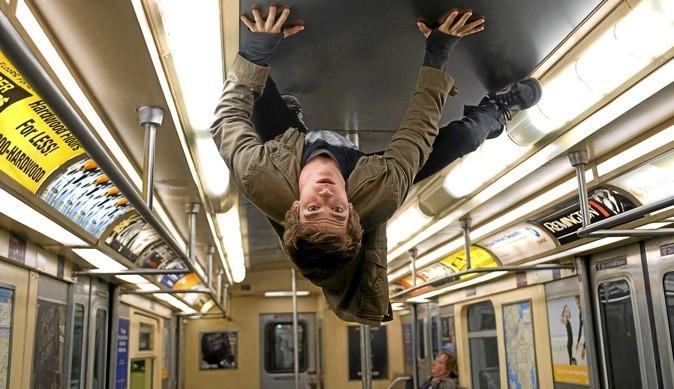 Dans le métro !