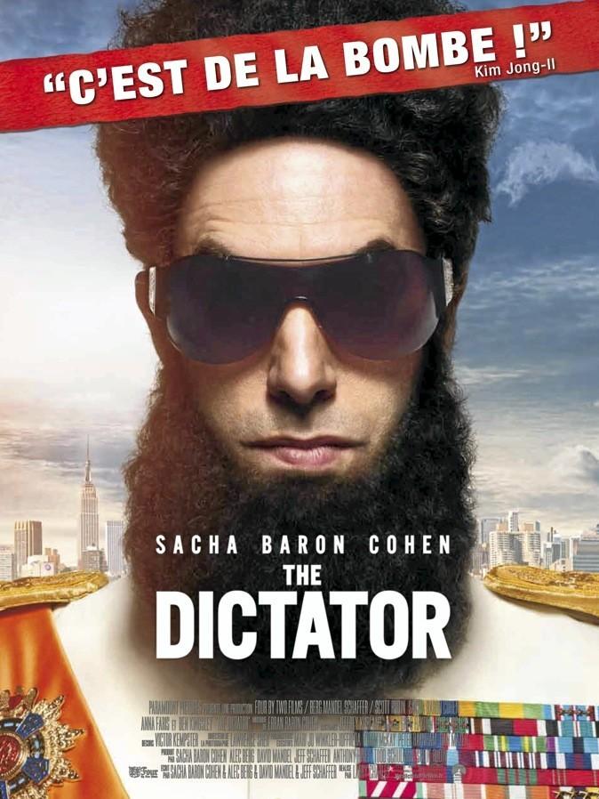 """L'affiche du film """"The Dictator"""" avec Sacha Baron Cohen !"""