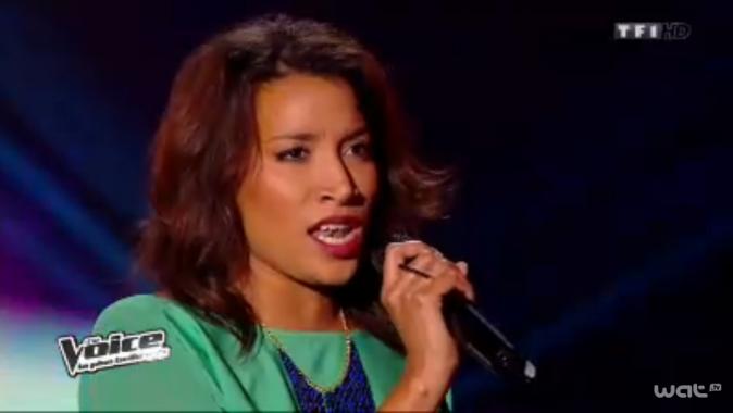 Melissa est le premier talent féminin de Garou