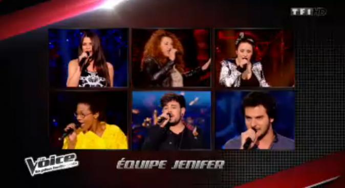 La team Jenifer pour les shows en direct !