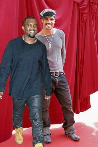 Kanye West et Shemar Moore