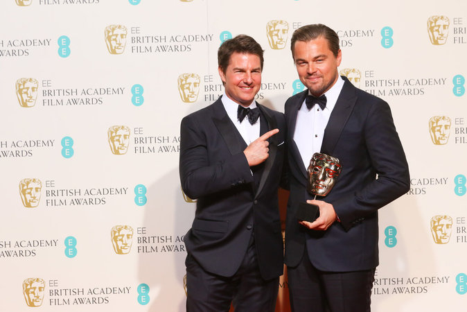Tom Cruise et Leonardo Dicaprio ont fait sensation aux BAFTA