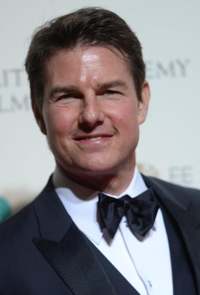 Tom Cruise, figé et gonflé aux BAFTA