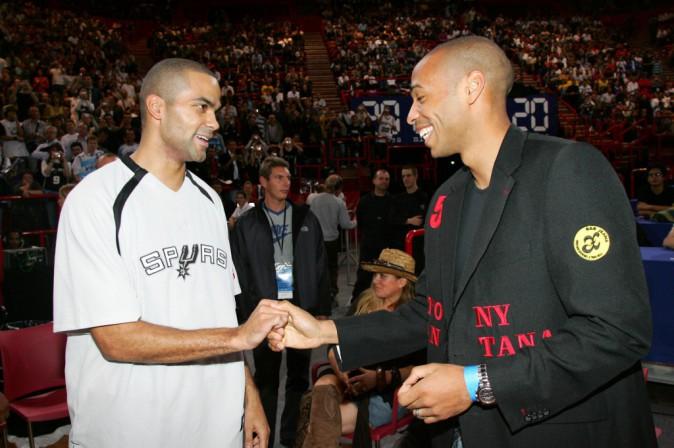 Tony Parker et Thierry Henry : deux champions se rencontrent !