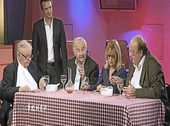 """Jacques Maillot : """"La sauce est très bonne"""" Bernard Mabille : """"C'est une réduction non ?"""" Philippe Bouvard :"""" C'est plus qu'une réduction. Puisque c'est gratuit."""""""