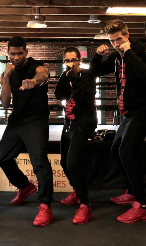 Usher s'est entrainé dur pour les besoins de son film et le partage sur Instagram !