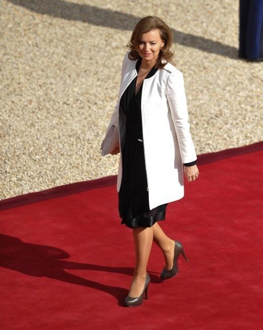 Valérie Trierweiler le 15 mai 2012