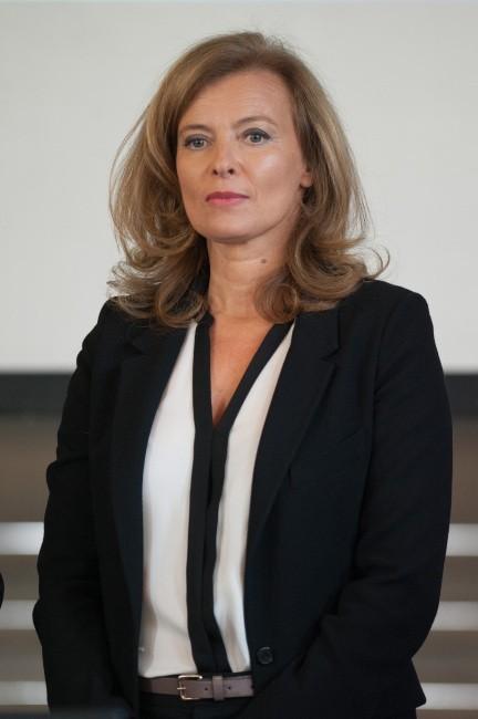 Valérie Trierweiler le 20 septembre 2012