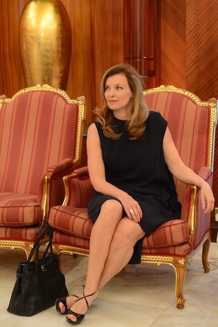 Valérie Trierweiler : toujours chic et raffinée, elle fête ses 49 ans aujourd'hui !