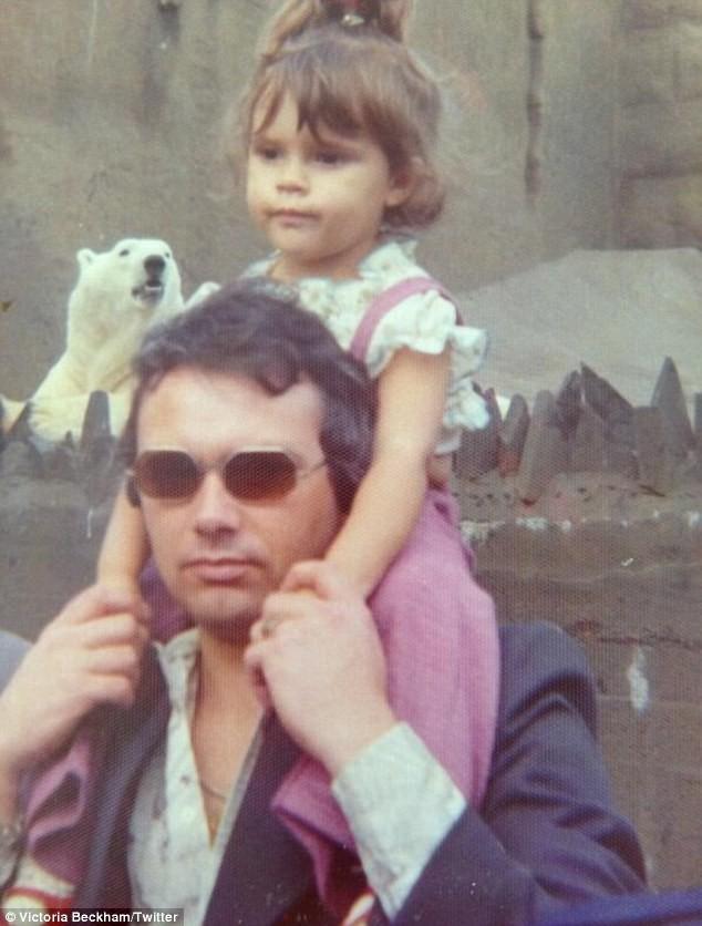 Victoria Beckham et son papa
