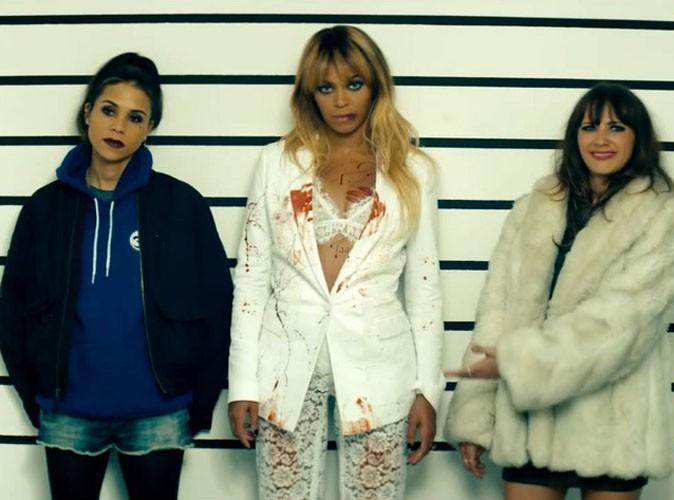 """Kidada Jones, Beyoncé et Rashida Jones dans le clip promotionnel """"Run"""" signé Bey et Jay-Z."""