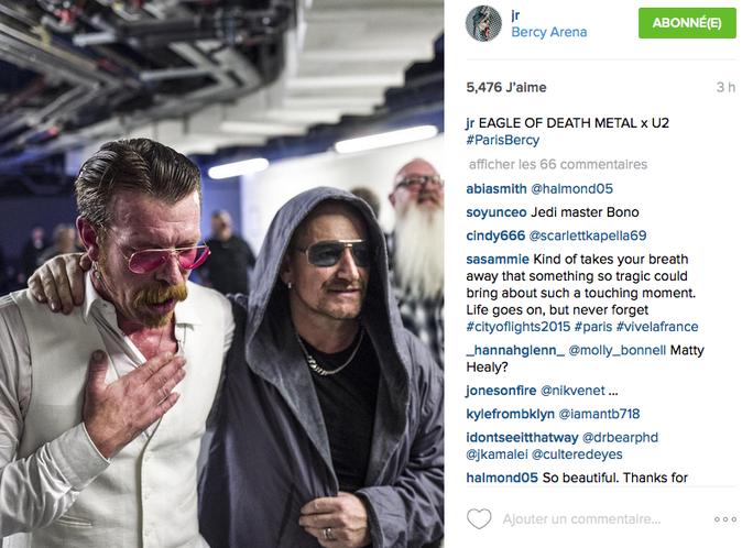 Vidéo : Les Eagles of Death Metal sur scène avec U2 : l'émotion à son comble !