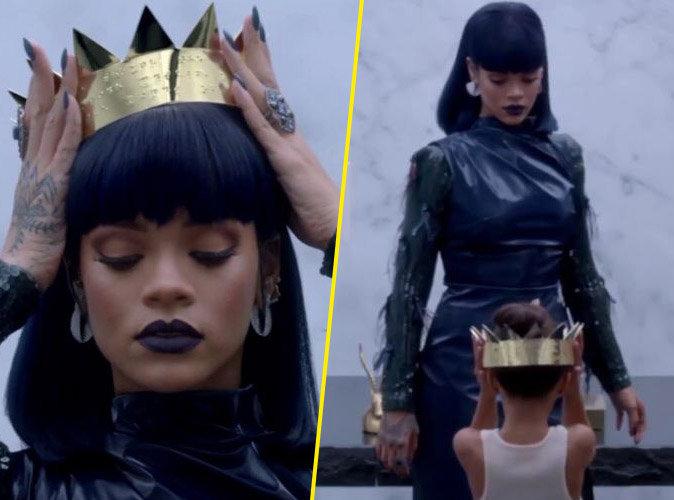 Rihanna : reine gothique pour le septi�me trailer de son album !