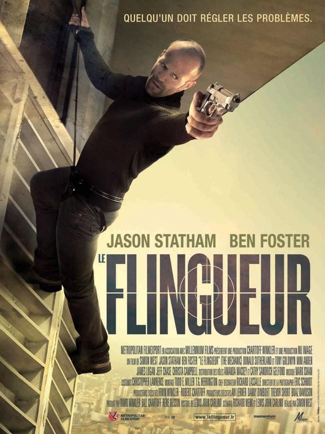 Le Flingueur avec Jason Statham et Ben Foster