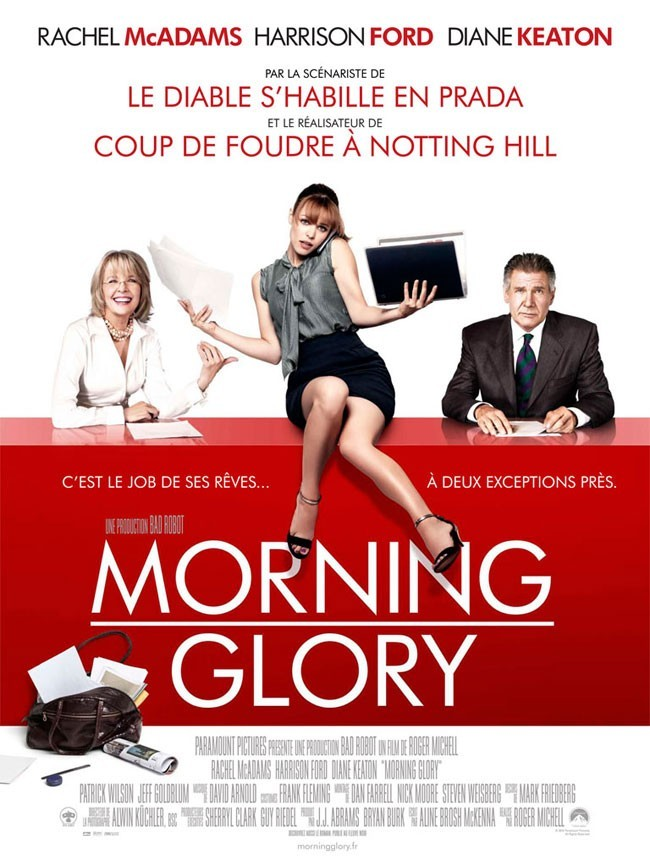 Morning Glory avec Rachel MacAdams et Harrison Ford