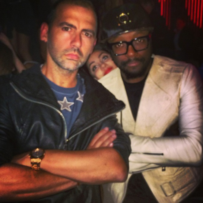 Avec le boss Will.i.am