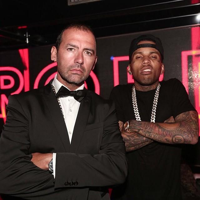 Avec le rappeur Kid Ink