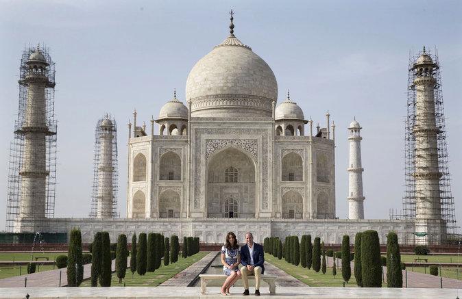 WIlliam et Kate au Taj Mahal : leur amour est le meilleur hommage à Lady Di !