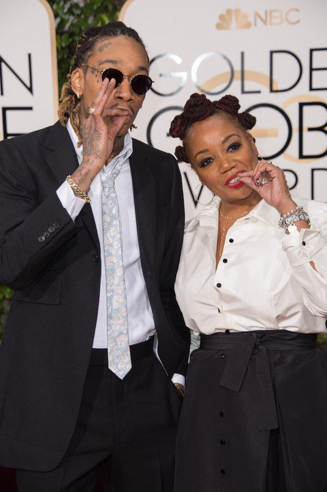 Wiz Khalifa, complice avec sa maman
