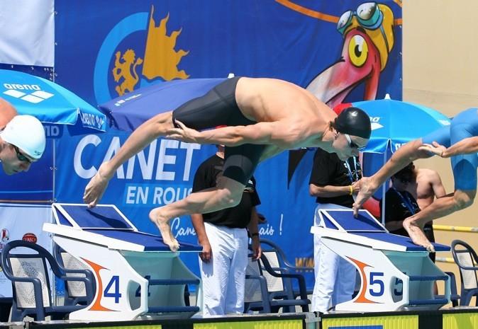 C'est l'étoile montante de la natation française !