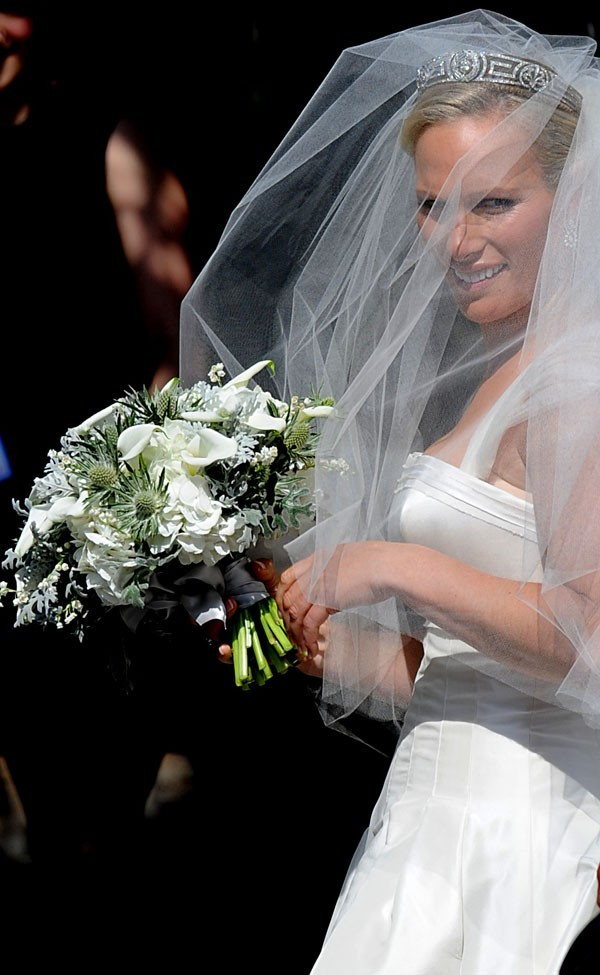 La cousine du Prince William, superbe sous son voile !