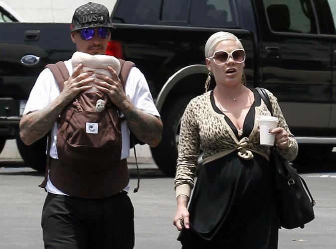 Pink et Carey Hart dévoilent le visage de leur fille Willow Sage !