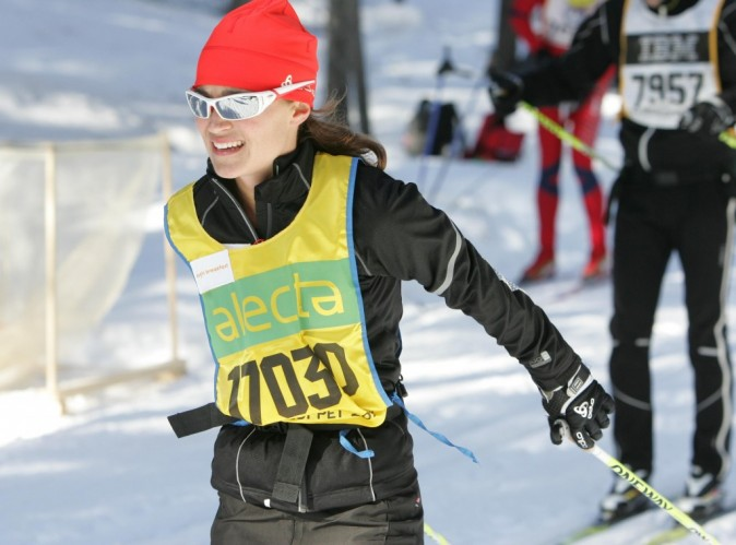 Pippa Middleton : même durant une épreuve de ski de fond, elle fait fondre les hommes !
