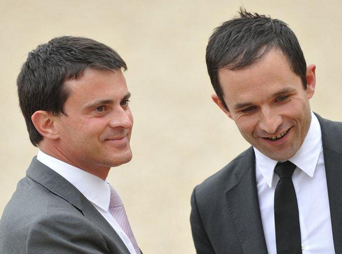 Primaire à gauche : Benoît Hamon et Manuel Valls qualifiés au 2e tour