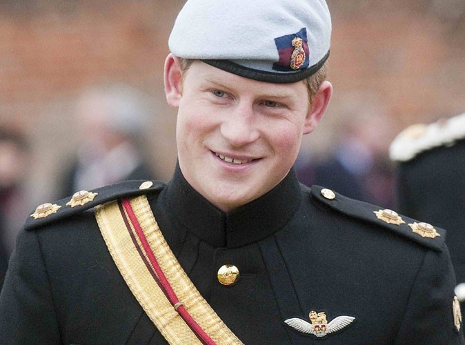 Prince Harry : Maintenant, appelez-le Capitaine !