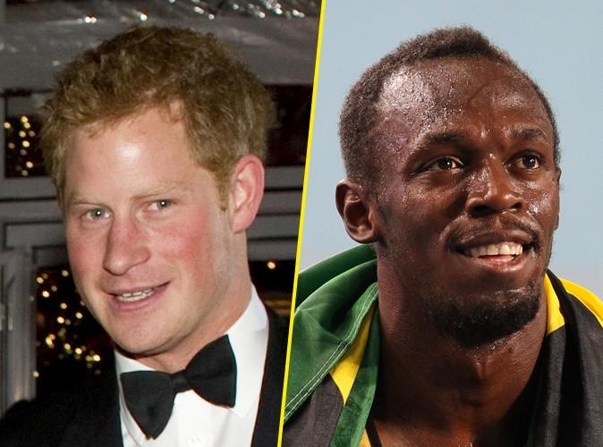 Prince Harry : motivé pour battre le champion Usain Bolt au 100 mètres !