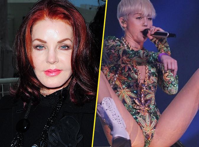 Priscilla Presley : elle compare Elvis à Miley Cyrus et prend la défense de la trash girl !