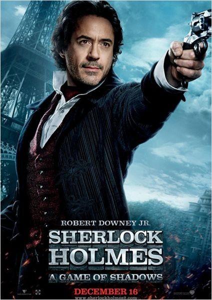 Sherlock Holmes : Jeu D'Ombres 5ème film le plus piraté de 2012