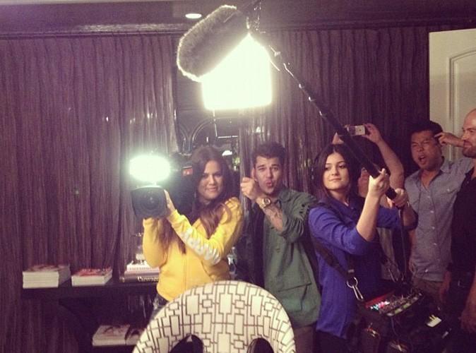 Quand les Kardashian se prennent pour l'équipe de tournage !