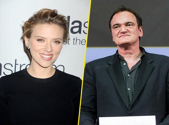 Quentin Tarantino : il remettra le César d'honneur à Scarlett Johansson !