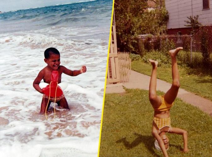 Qui aurait cru que ces deux bambins dirigeraient un jour le monde !