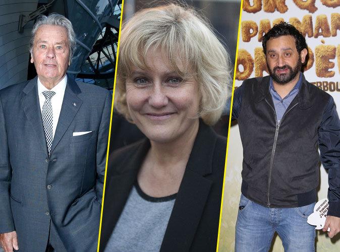 """Race blanche"" : Alain Delon défend Nadine Morano et flingue Cyril Hanouna !"