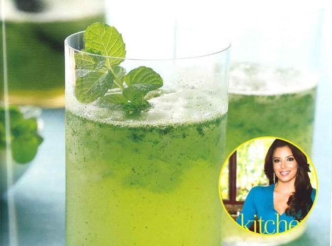 Recette de star : testez la limonade à la menthe d'Eva Longoria !