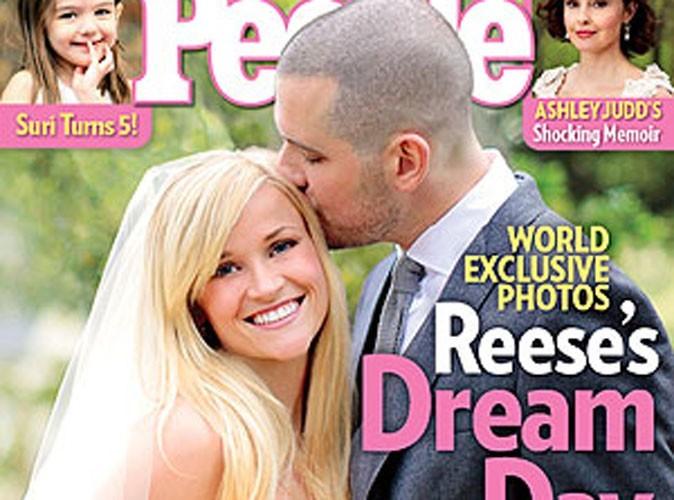 Reese Witherspoon : découvrez sa photo de mariage !