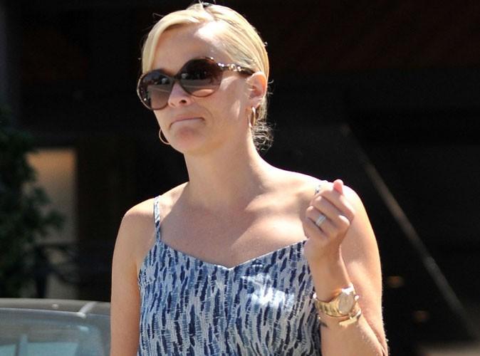 Reese Witherspoon : pas mal amochée par son accident, regardez !