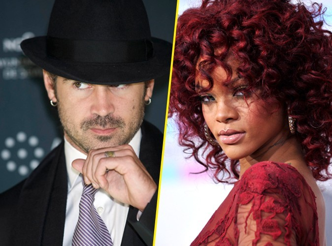 Rihanna chauffe Colin Farrell par texto !