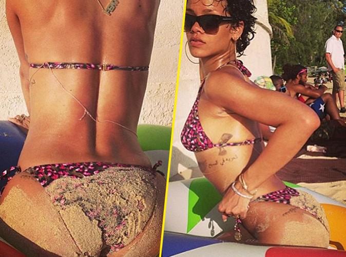 Rihanna : elle aime jouer avec ses fesses !