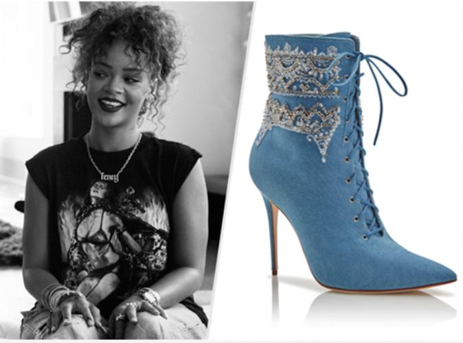 Rihanna : Elle s'associe à Manolo Blahnik pour une nouvelle collection de chaussures!