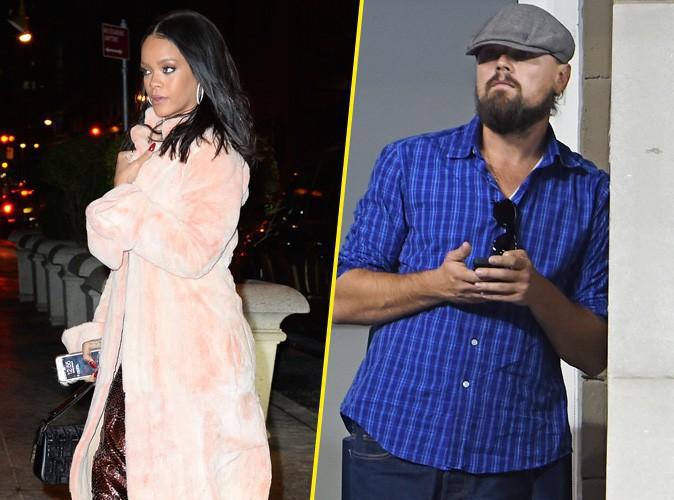 """Rihanna et Leonardo DiCaprio : la rumeur continue d'enfler... """"Ils s'embrassaient"""" !"""