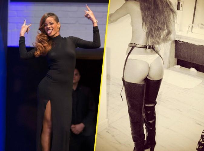 Rihanna : et maintenant, elle s'exhibe en string !