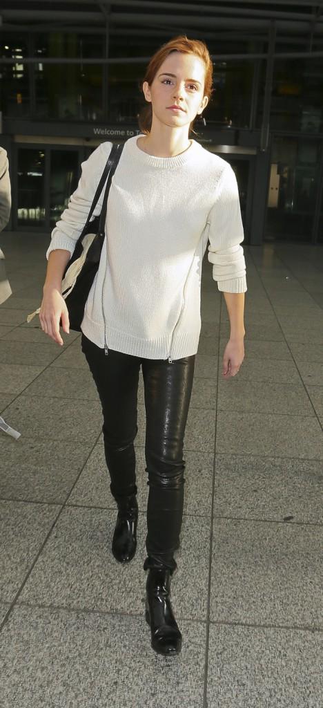 Les réchauffées : Emma Watson à Londres