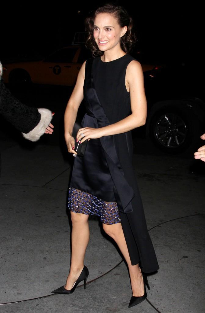Les réchauffées : Natalie Portman à New York !