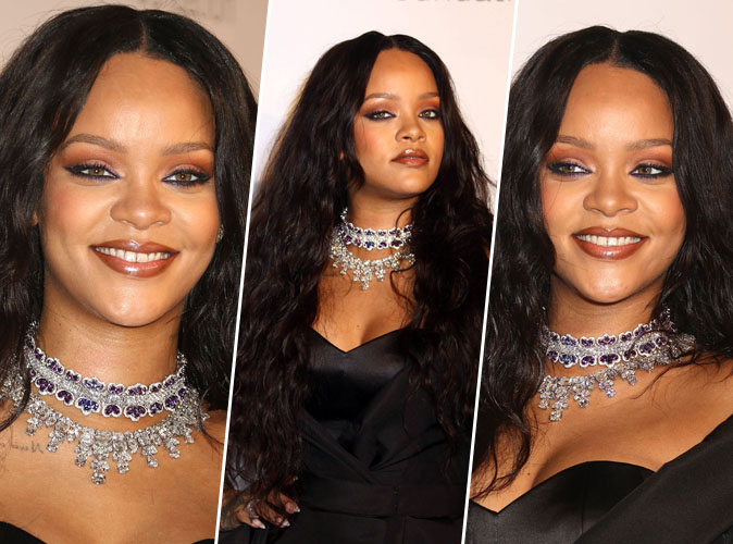 Rihanna : On copie sa mise en beauté du Diamond Ball !