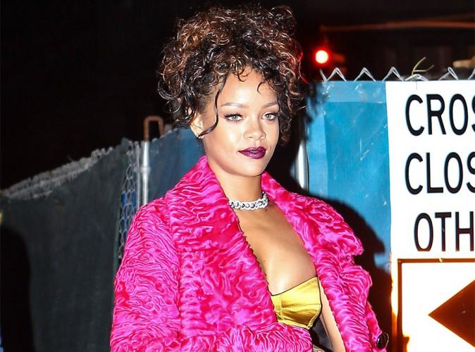 Rihanna : ses photos nues volées, partout sur la toile !