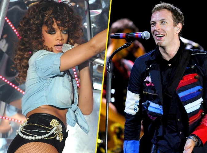 Rihanna sur le nouvel album de Coldplay !