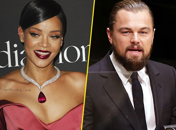 Rihanna : surprise en train d'embrasser... Leonardo DiCaprio !